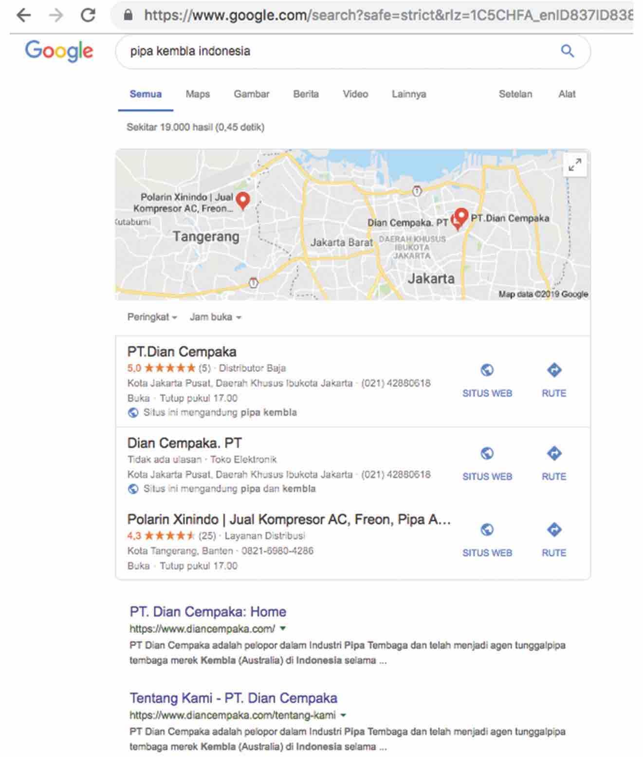 Google Adwords Dian Cempaka Mas