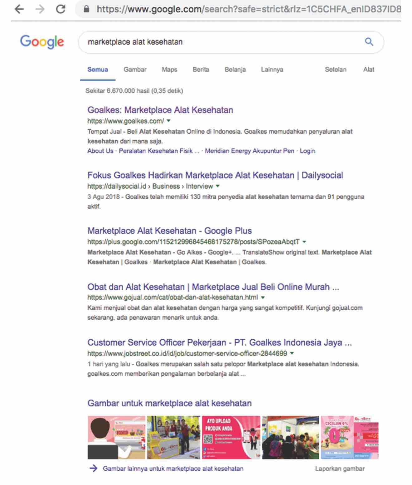 Google Adwords Goalkes